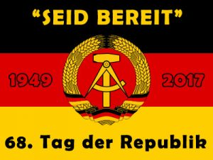 DDR Dinnershow zum Tag der Republik 2017